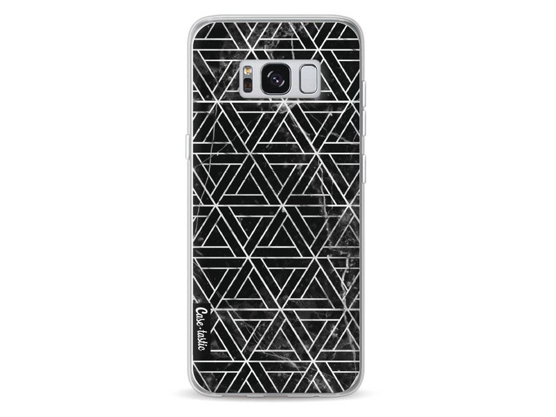 Casetastic Softcover Samsung Galaxy S8 - Abstract Marble Triangles