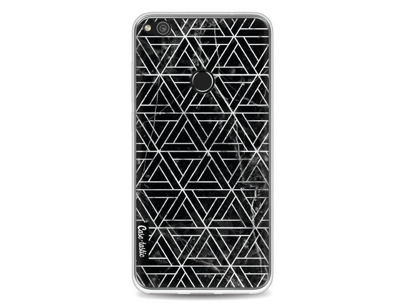 Casetastic Softcover Huawei P8 Lite (2017) - Abstract Marble Triangles
