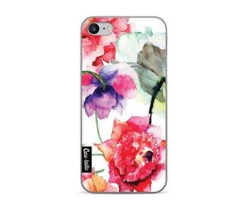 Watercolor Flowers - Apple iPhone 7 / 8