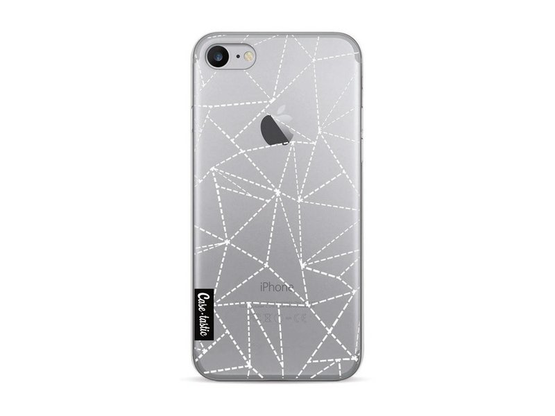 Casetastic Softcover Apple iPhone 7 / 8 - Abstract Dotted Lines Transparent