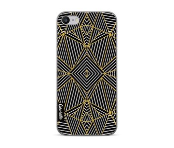 Abstraction Half Gold - Apple iPhone 7 / 8