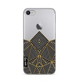 Casetastic Softcover Apple iPhone 7 / 8 - Abstraction Half Transparent