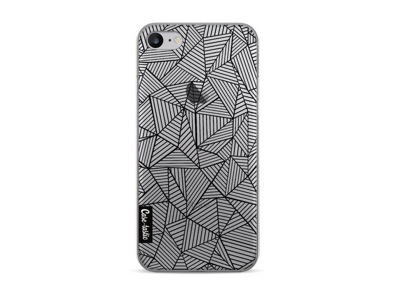 Casetastic Softcover Apple iPhone 7 / 8 - Abstraction Lines Transparent