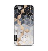 Casetastic Softcover Apple iPhone 7 / 8 - Soft Blue Gradient Cubes