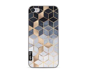 Soft Blue Gradient Cubes - Apple iPhone 7 / 8