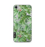 Casetastic Softcover Apple iPhone 7 / 8 - Transparent Leaves