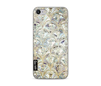 Mint Art Deco Marbling - Apple iPhone 7 / 8