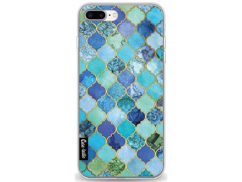 Casetastic Softcover Apple iPhone 7 Plus / 8 Plus - Aqua Moroccan Tiles