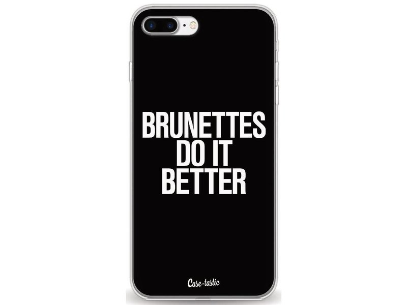 Casetastic Softcover Apple iPhone 7 Plus / 8 Plus - Brunettes Do It Better