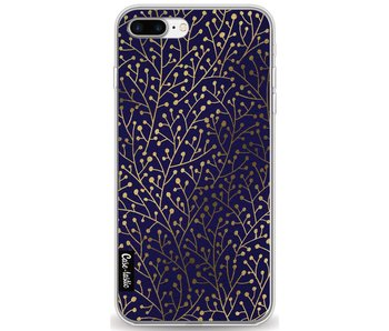 Berry Branches Navy Gold - Apple iPhone 7 Plus / 8 Plus