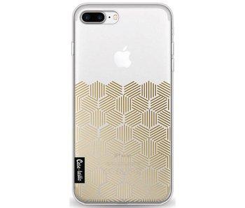 Golden Hexagons - Apple iPhone 7 Plus / 8 Plus