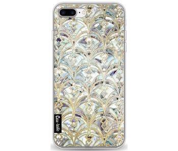 Mint Art Deco Marbling - Apple iPhone 7 Plus / 8 Plus