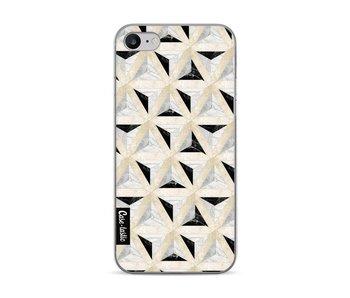 Marble Triangle Blocks - Apple iPhone 7 / 8