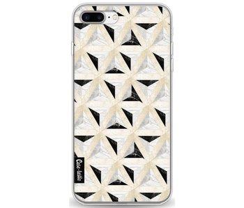 Marble Triangle Blocks - Apple iPhone 7 Plus / 8 Plus