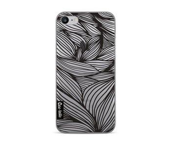 Wavy Outlines Black - Apple iPhone 7 / 8