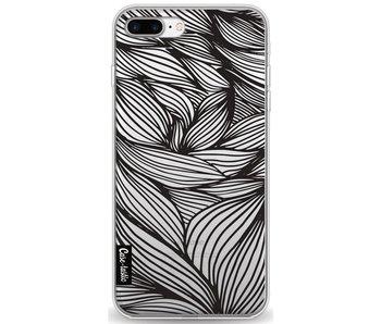 Wavy Outlines Black - Apple iPhone 7 Plus / 8 Plus