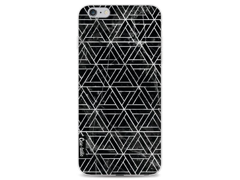 Casetastic Softcover Apple iPhone 6 Plus / 6s Plus - Abstract Marble Triangles