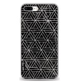 Casetastic Softcover Apple iPhone 7 Plus / 8 Plus - Abstract Marble Triangles
