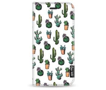 Cactus Dream - Wallet Case White Apple iPhone 7 / 8