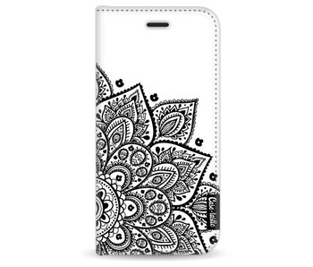 Floral Mandala - Wallet Case White Apple iPhone 7 / 8