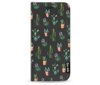 Cactus Dream - Wallet Case Black Apple iPhone 7 / 8