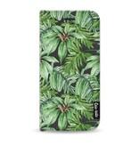 Casetastic Wallet Case Black Apple iPhone 7 / 8 - Transparent Leaves