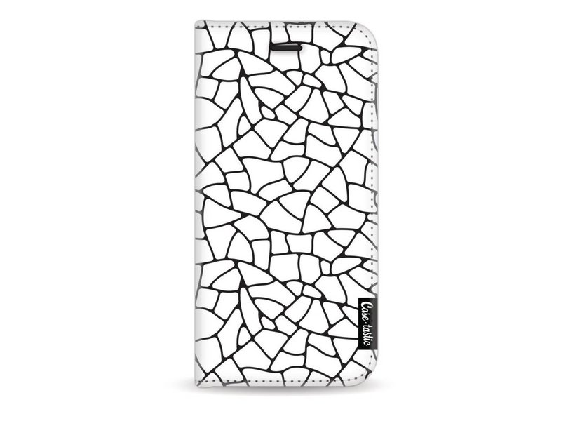 Casetastic Wallet Case White Apple iPhone 7 / 8 - Transparent Mosaic