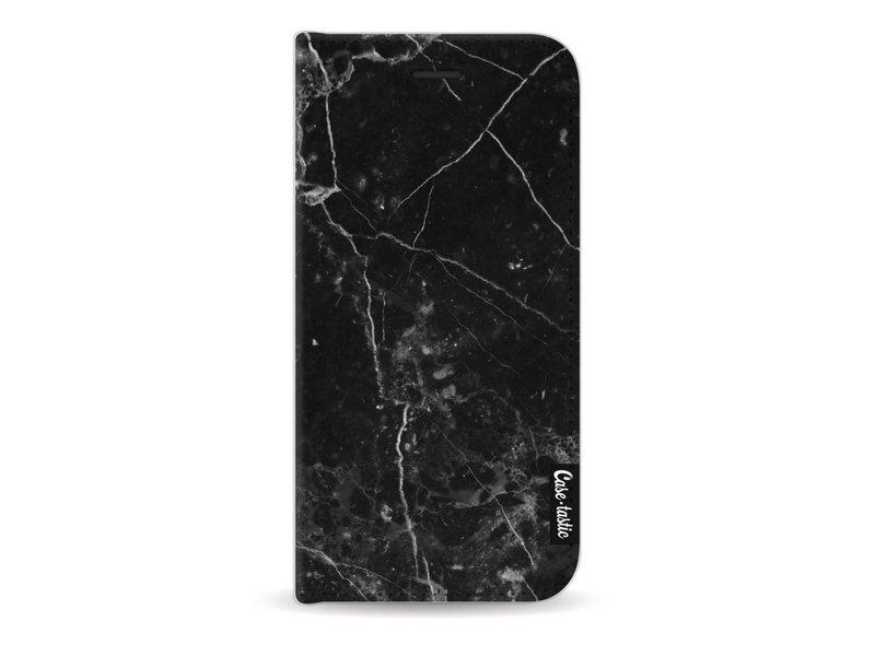 Casetastic Wallet Case Black Apple iPhone 7 / 8 - Black Marble