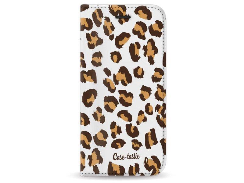 Casetastic Wallet Case White Apple iPhone 7 / 8 - Leopard Print
