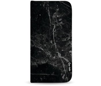 Black Marble - Wallet Case Black Apple iPhone 7 Plus / 8 Plus