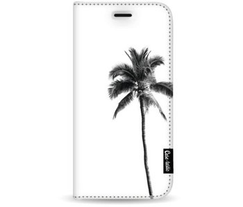 Palm Tree Transparent - Wallet Case White Apple iPhone 7 Plus / 8 Plus