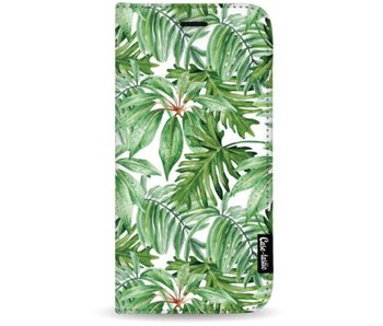 Transparent Leaves - Wallet Case White Apple iPhone 7 Plus / 8 Plus