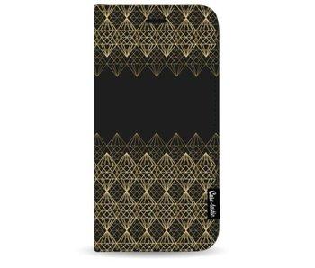 Golden Diamonds - Wallet Case Black Apple iPhone 7 Plus / 8 Plus