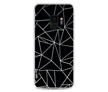 Abstract Dotted Lines Black - Samsung Galaxy S9