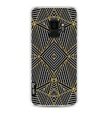 Casetastic Softcover Samsung Galaxy S9 - Abstraction Half Gold