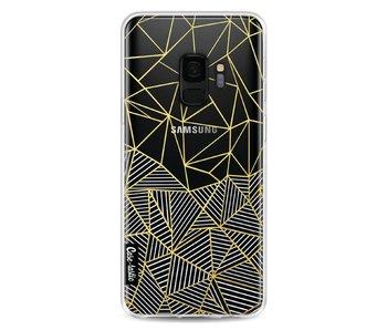 Abstraction Half Half Transparent - Samsung Galaxy S9