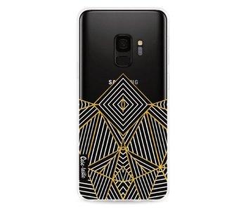 Abstraction Half Transparent - Samsung Galaxy S9