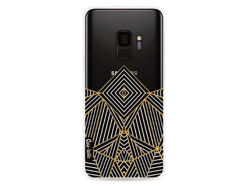 Casetastic Softcover Samsung Galaxy S9 - Abstraction Half Transparent