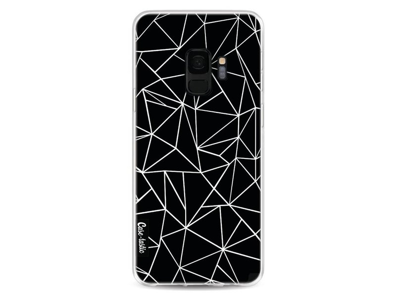 Casetastic Softcover Samsung Galaxy S9 - Abstraction Outline Black