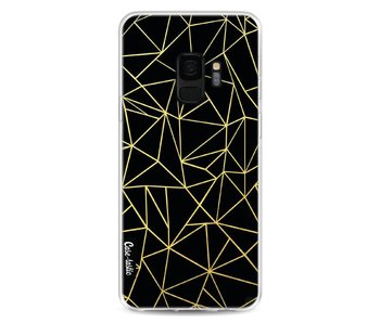 Abstraction Outline Gold - Samsung Galaxy S9