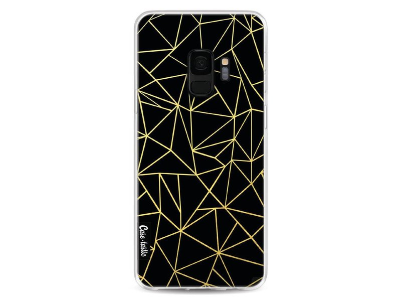 Casetastic Softcover Samsung Galaxy S9 - Abstraction Outline Gold