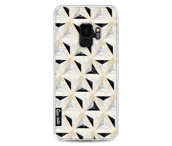 Marble Triangle Blocks - Samsung Galaxy S9