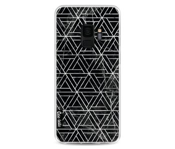 Abstract Marble Triangles - Samsung Galaxy S9