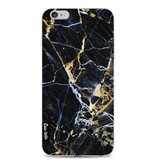 Casetastic Softcover Apple iPhone 6 Plus / 6s Plus - Black Gold Marble