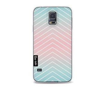 Mint Stripes - Samsung Galaxy S5