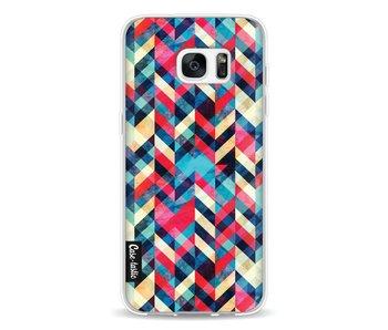 Zigzag Hipster - Samsung Galaxy S7 Edge