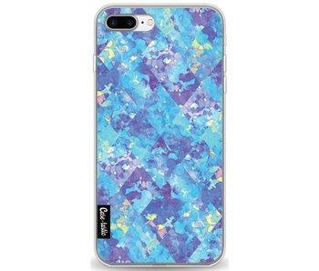Sapphire Patchwork - Apple iPhone 7 Plus / 8 Plus