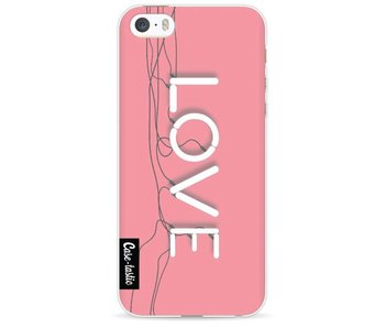 Love Neon Pink - Apple iPhone 5 / 5s / SE
