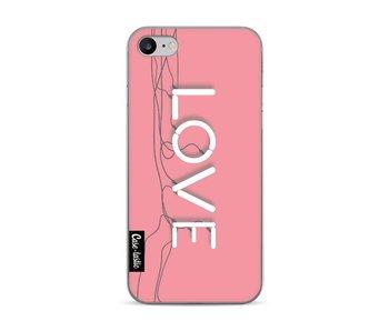 Love Neon Pink - Apple iPhone 7 / 8