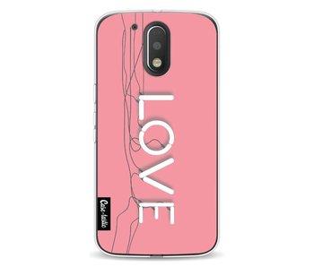 Love Neon Pink - Motorola Moto G4 / G4 Plus